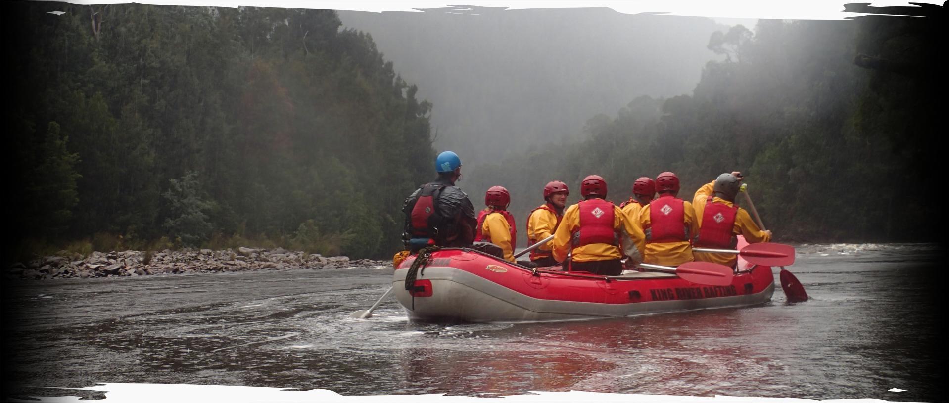Discover Tasmania  Western Wilds  Hobart  Rafting