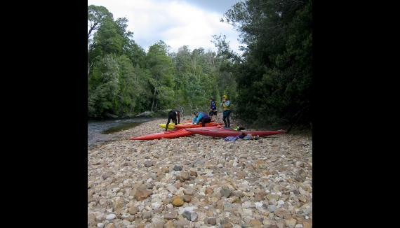 White water rafting to Strahan