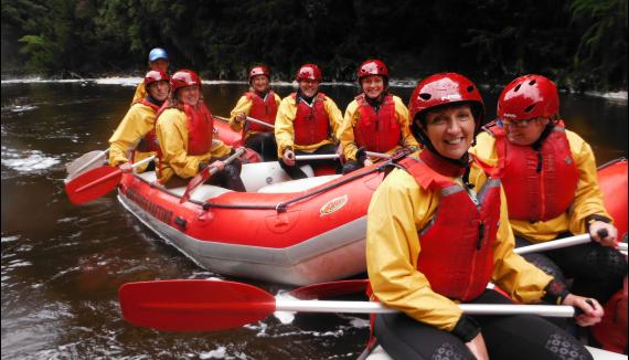 King River Rafting Tasmania