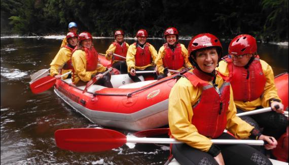 King River Rafting Tasmania