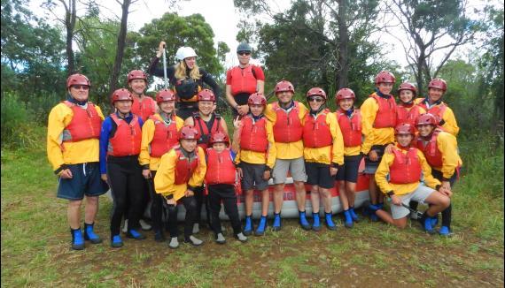hobart raftging derwent river tasmania