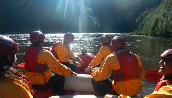 king for the day queenstown strahan rafting