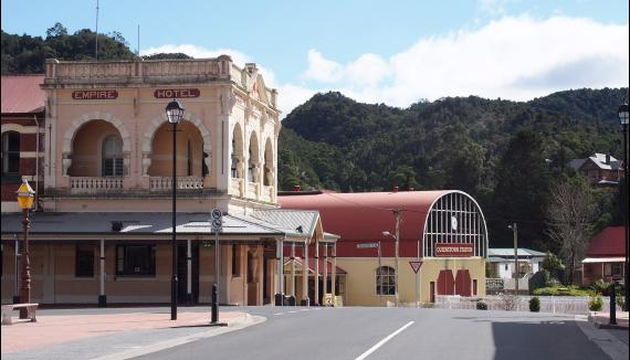 Good base for white water rafting in Tasmania
