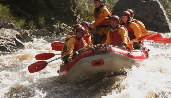 west coast wilderness rafting franklin river